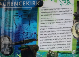 Laurencekirk info at station