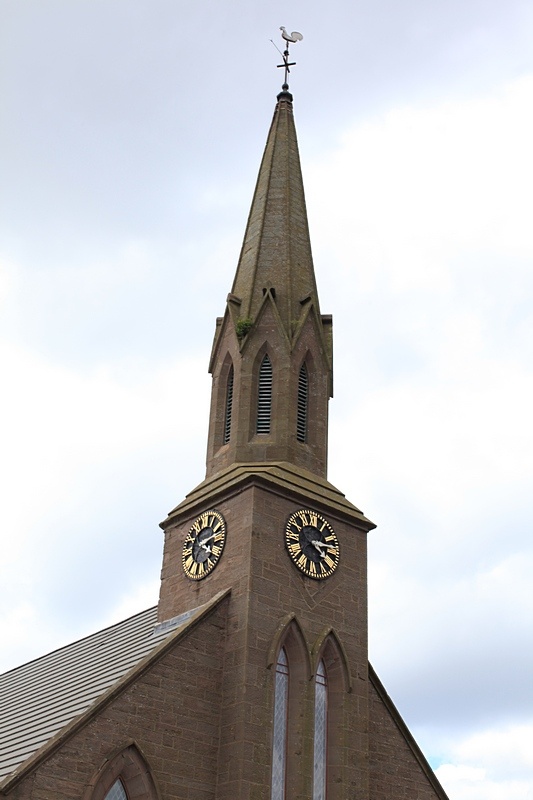 Masonic hall clock tower