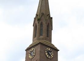 Masonic hall clock tower