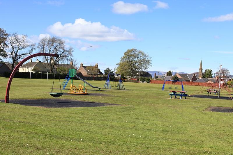 Memorial park playground