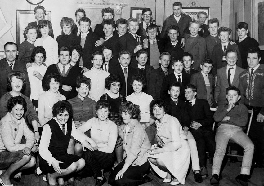 Laurencekirk Youth Club 1960s.jpg