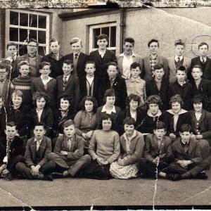 Laurencekirk Secondary Modern class