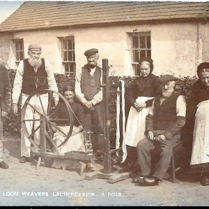 Laurencekirk loom weavers