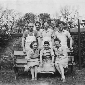 Staff of Douglas Laurencekirk Bakers