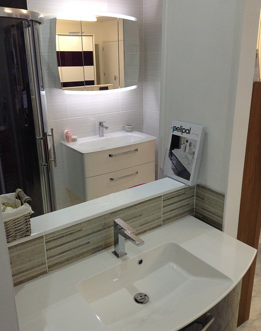 CNG Designs bathroom display
